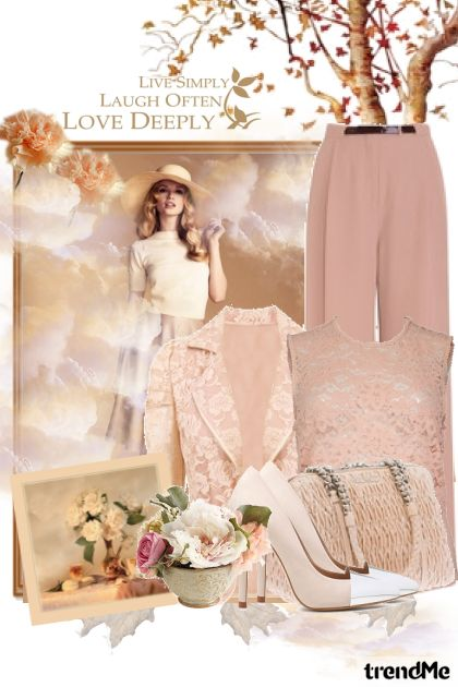 Live simply, laugh often, love deeply- Fashion set