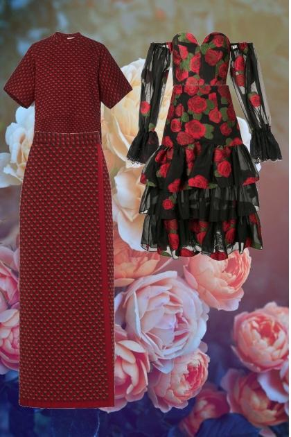 rose dresses i made