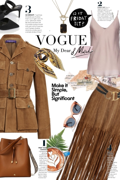 Vogue brown
