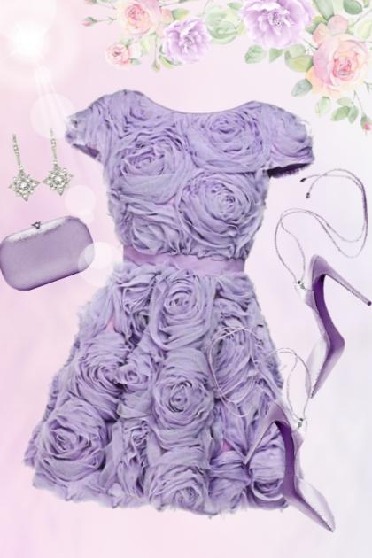 96/ Purple roses