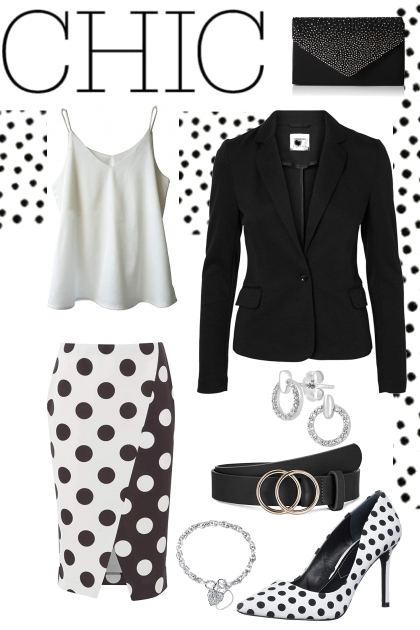 Spring 2021 - black and white chic
