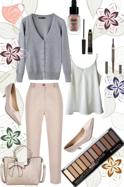 Spring 2021 - pink and grey
