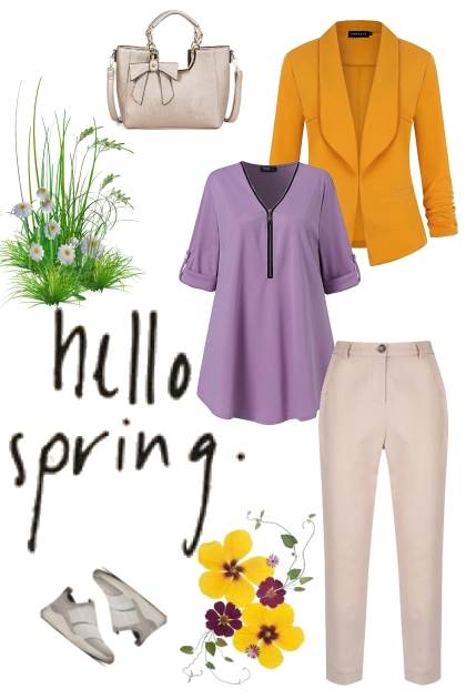 Spring 2021 - hello spring!- Fashion set