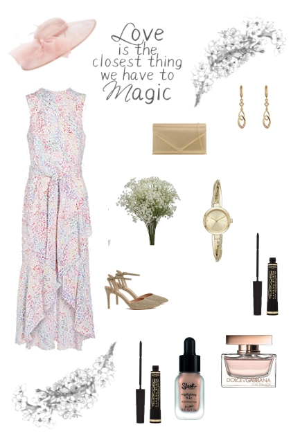 Love is magic - wedding guest