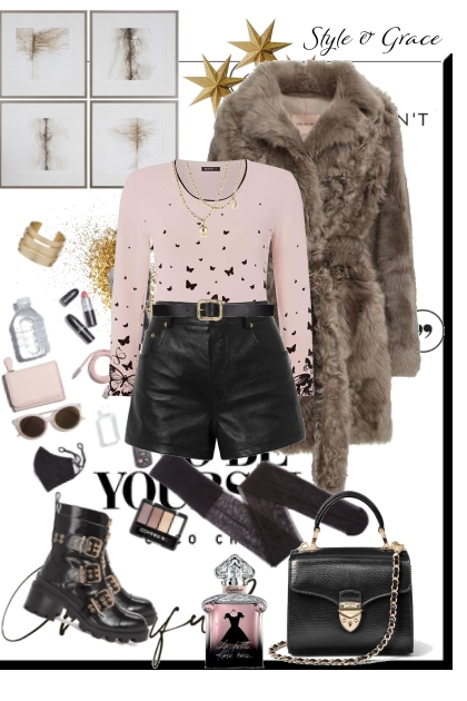 Sweet But Fearless- Fashion set
