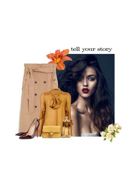 Tell me a story- Fashion set
