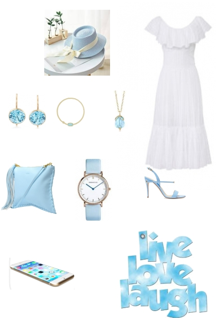 Blue and White Dream
