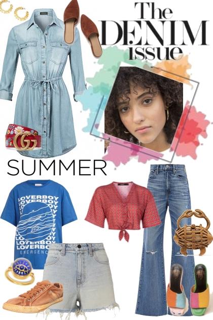 Denim looks for Summer