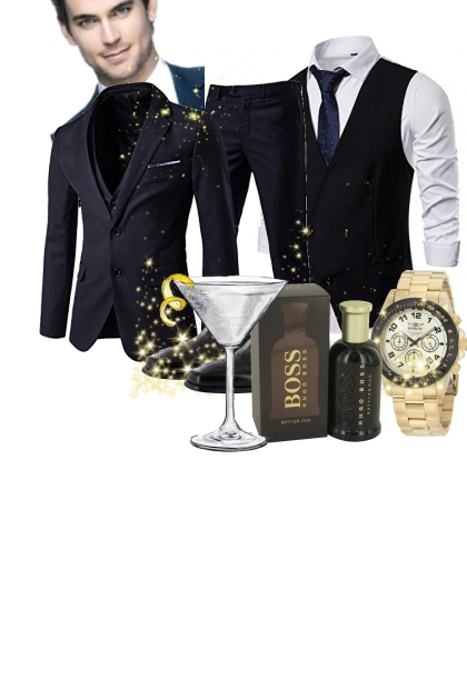 Glamour Man- Fashion set