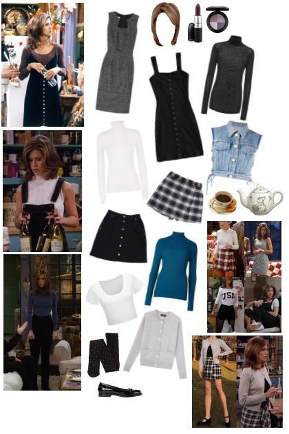 Rachel Green: Seasons 1-4