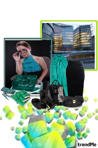 Green office style