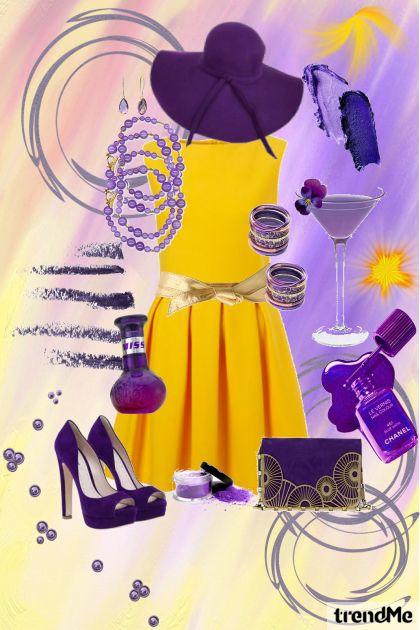 Opposite Yellow&Purple