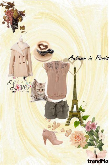 Paris with love- Modna kombinacija