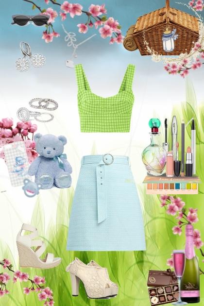 daddy's girl - spring picnic