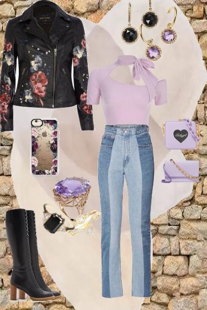me - lavender