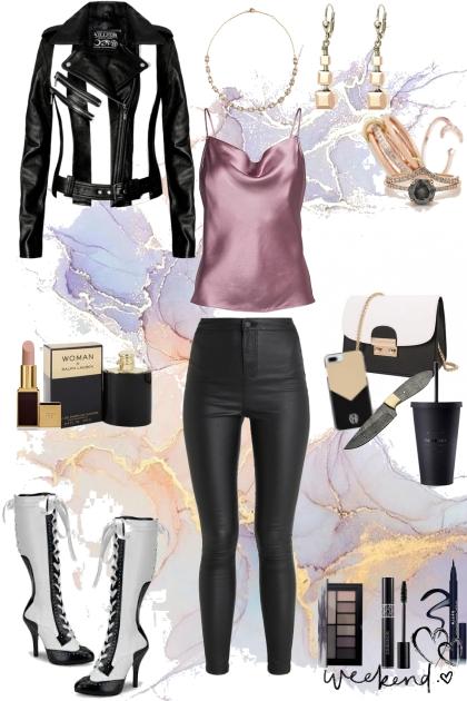 me - black, white & dusk- Fashion set
