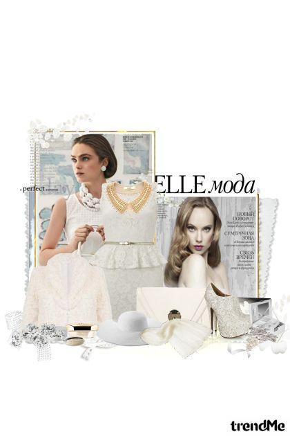 softly white set...