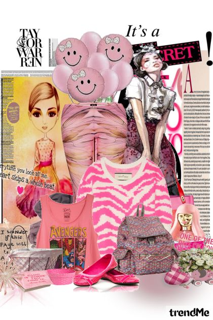 pinki piknik :)- Fashion set