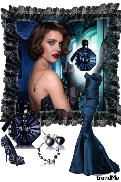 midnight pearl- Fashion set