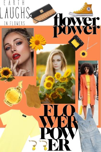 Aesthetic Sunflower Girl