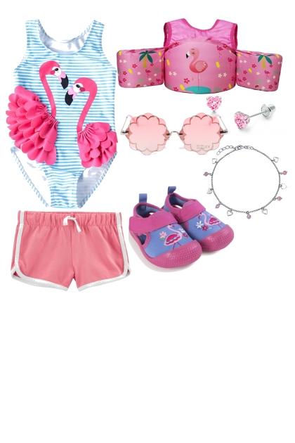 Flamingo swimwear