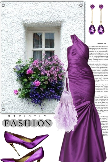 Amazing In Purple