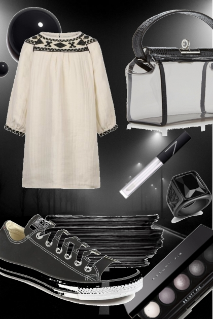 прогулка по ночному городу- Fashion set
