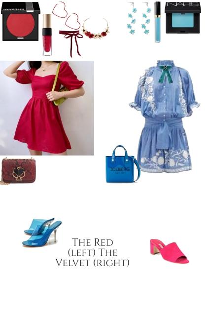 Inspired by Red Velvet's The Red and The Velvet