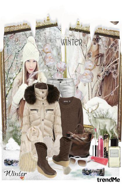 zimski dan u prirodi