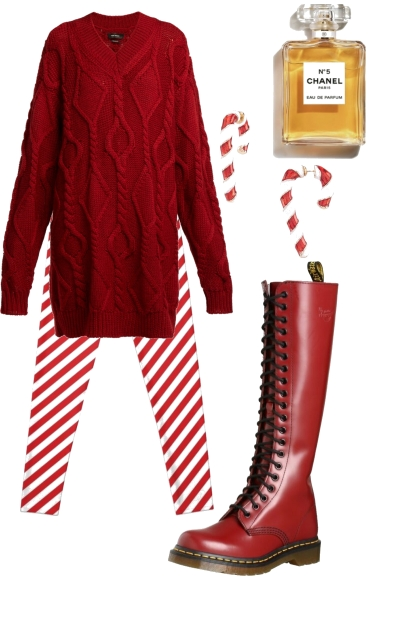 Festive Sweater Dress