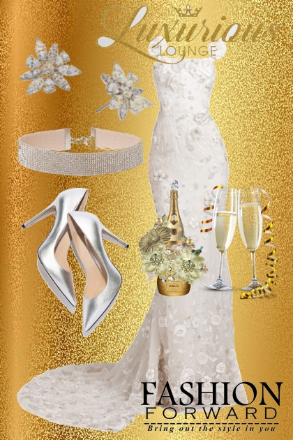Luxuriouz in white - Fashion set