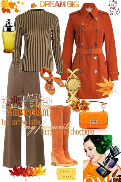 Dream Big Orange - Fashion set