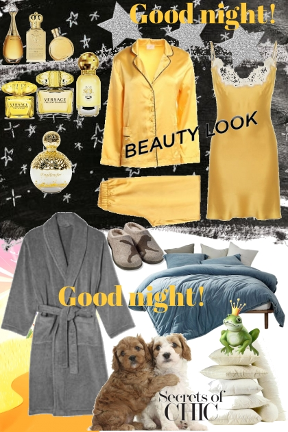 Yellow Good Night