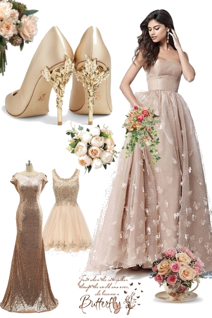 Flowers and Gold