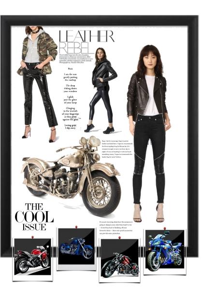 Leather rebel - Fashion set
