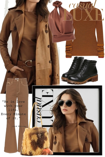 Brown luxe