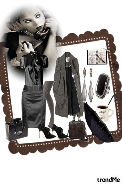 black macig women- Fashion set