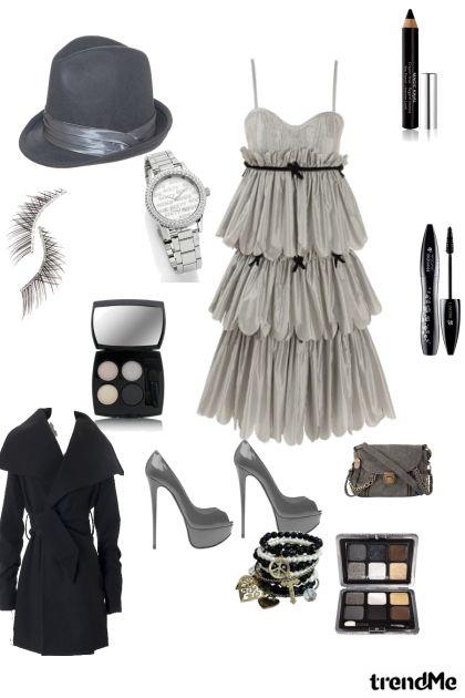 Sivo-crno
