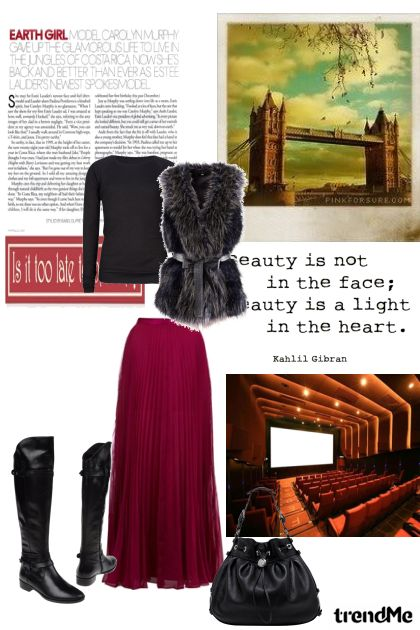 Beauty is not in the face...- Fashion set