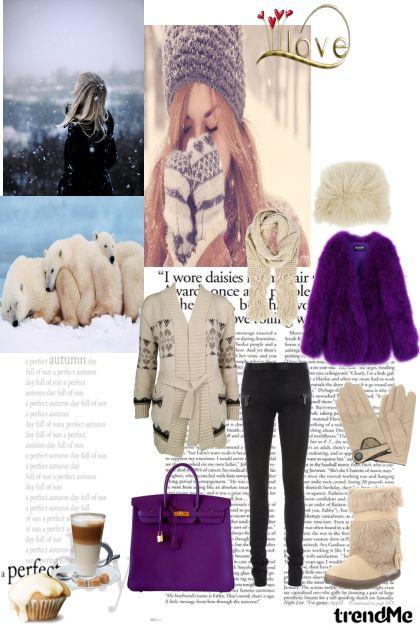Winter in my heart- Fashion set