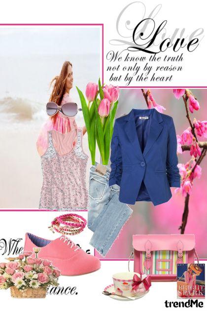 Love pink spring