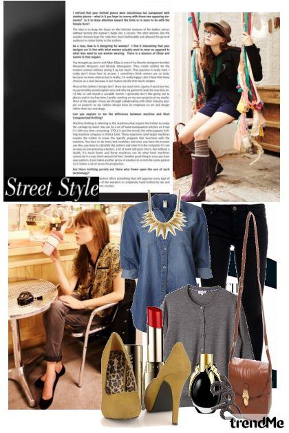 Street fall style