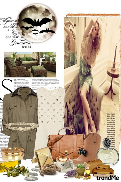 Safari style- Fashion set