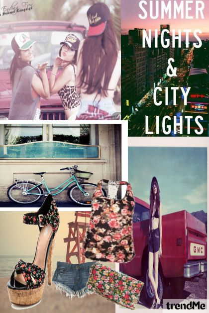 Summer nights and city lights^^
