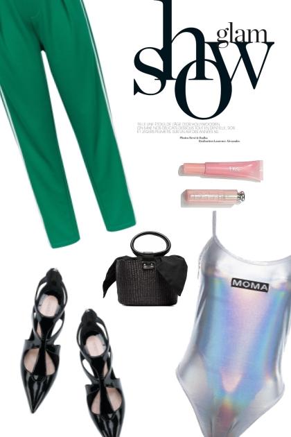 Glam- combinação de moda