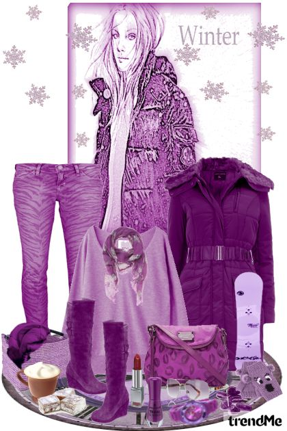 Purple Winter