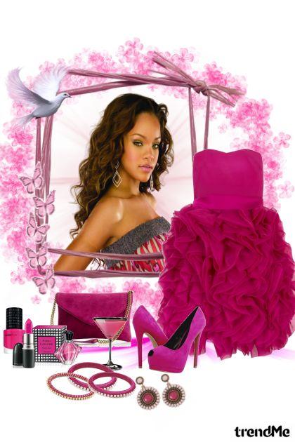 Rihanna- Modna kombinacija