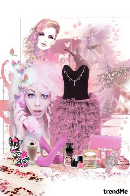 roza kolekcija :))- Modna kombinacija