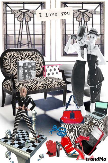 Girls Vintages and Set Art Deco