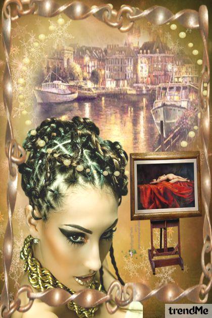 Art, City, Woman.... Always art!